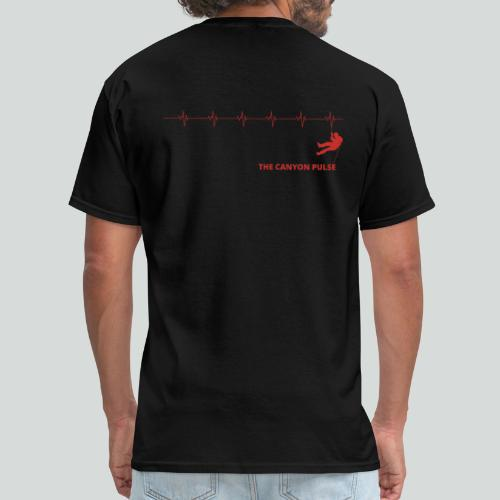 THE CANYON PULSE- on light front-2 sided - Men's T-Shirt