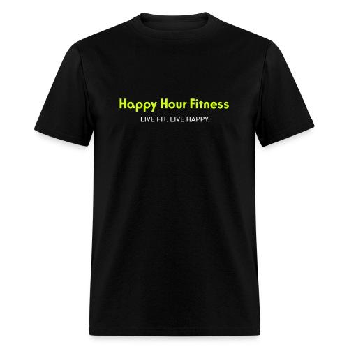 HHF_logotypeandtag - Men's T-Shirt