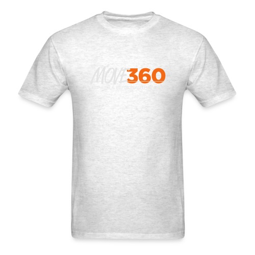 Move360 Logo LightGrey - Men's T-Shirt