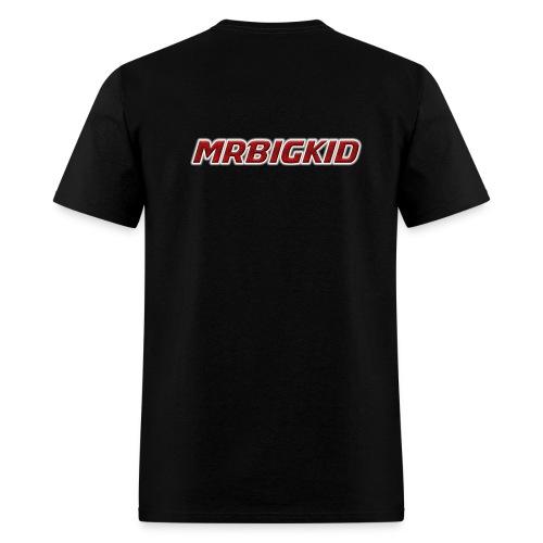 MrBigKid Textured Logo - Men's T-Shirt