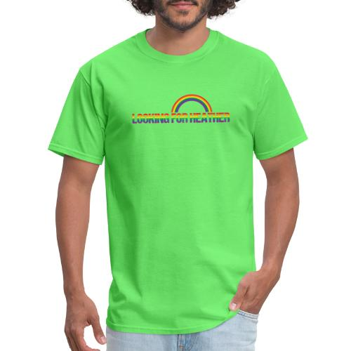 Looking For Heather Pride - Men's T-Shirt