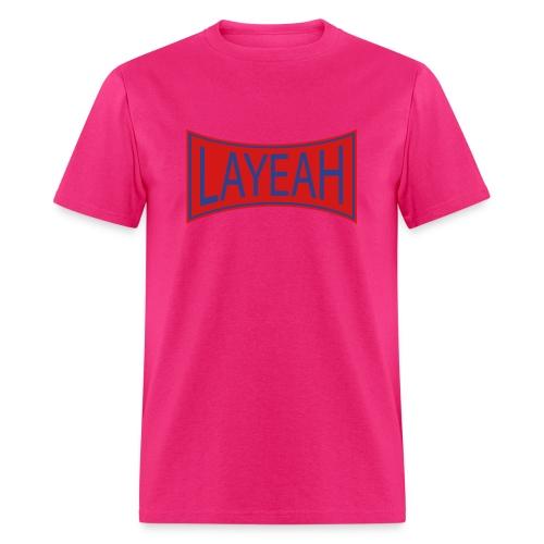 White LaYeah Shirts - Men's T-Shirt