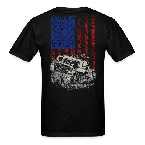 Wrangler American Flag - Men's T-Shirt