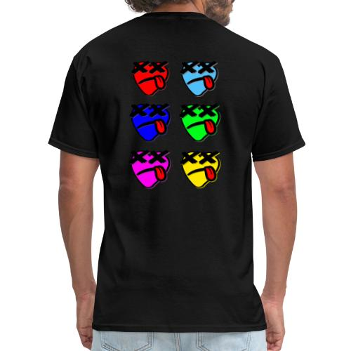 Six Of Hearts - Men's T-Shirt
