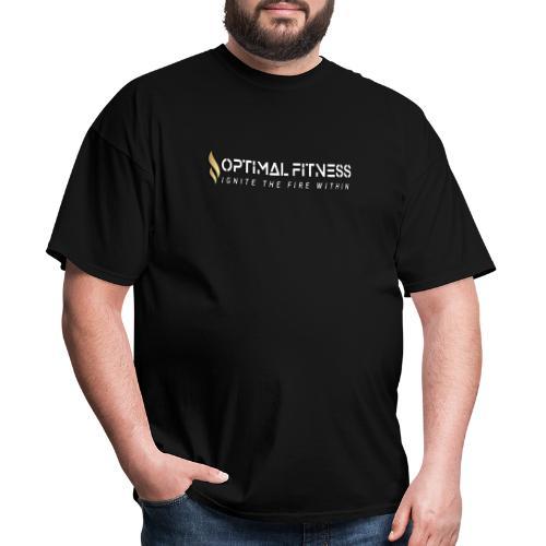 white logo, keep calm and hiit it white - Men's T-Shirt