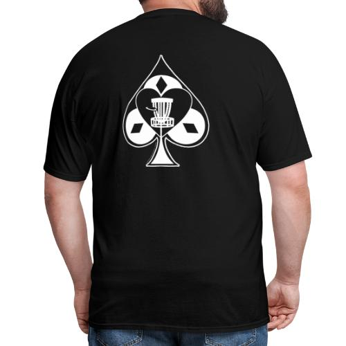 Disc Golf Lucky Ace Shirt or Prize - Men's T-Shirt