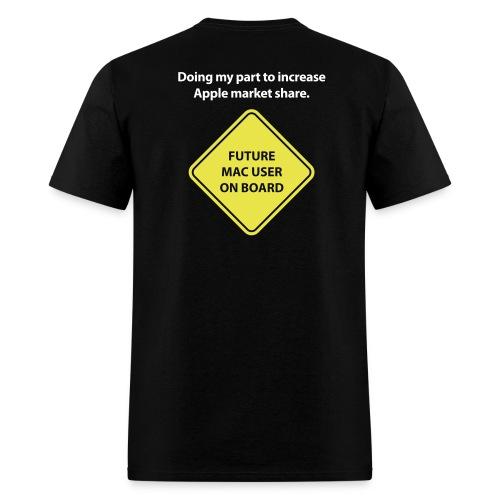 macuseronboard - Men's T-Shirt