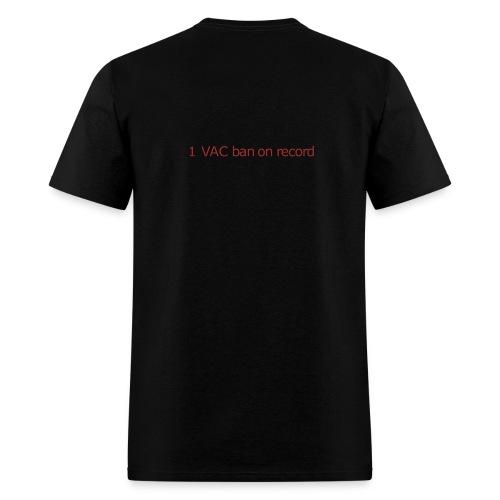 1 VAC BAN ON RECORD - Men's T-Shirt
