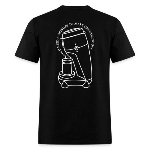 Coffee Cup & Grinder - Men's T-Shirt