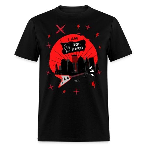 I AM ROC HARD Graphic - Men's T-Shirt