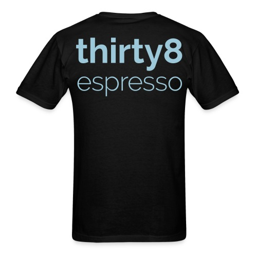 38Espresso Logo Reversed - Men's T-Shirt