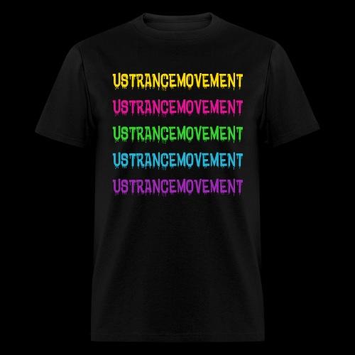 US TRANCE MOVEMENT DRIP - Men's T-Shirt