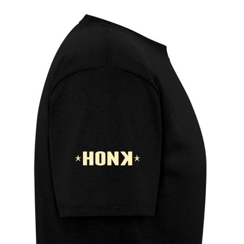 Honk White Letters - Men's T-Shirt