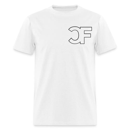 CF Logo Original vector w Chicago Force - Men's T-Shirt