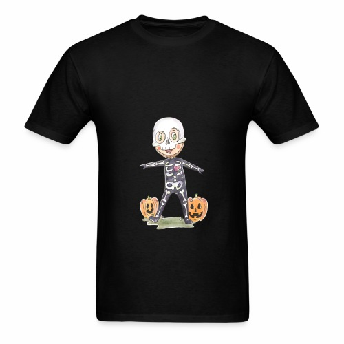 Halloween costume character background - Men's T-Shirt