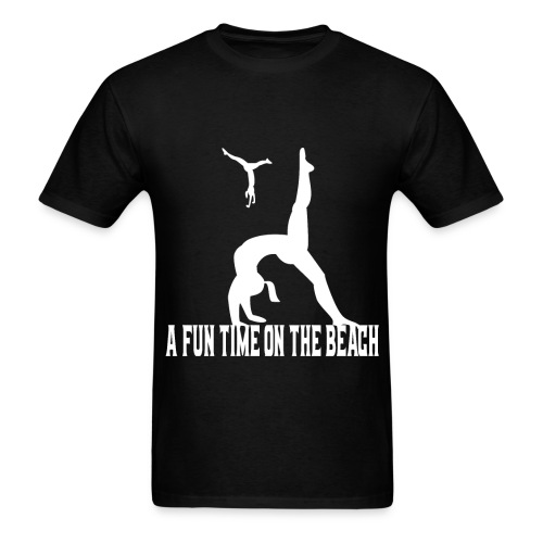 beach t-shirt A fun time on the beach t-shirt - Men's T-Shirt
