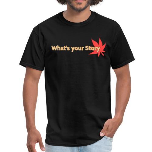 What's your story Orange - Men's T-Shirt