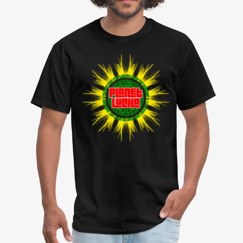 Planet Lucha Logo - Men's T-Shirt