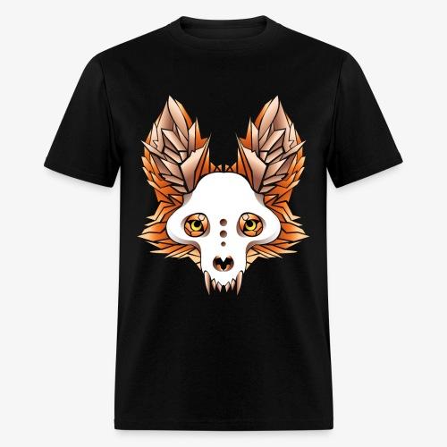 fox skull - Men's T-Shirt
