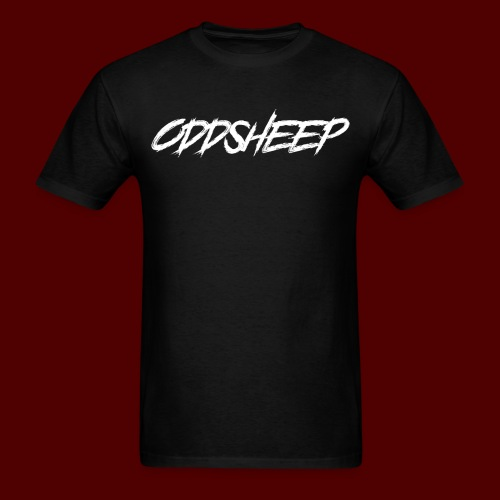 OddSheep White Logo - Men's T-Shirt