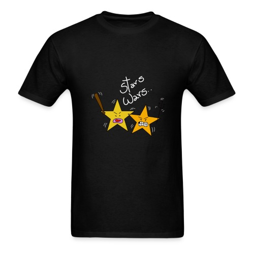 The true wars of the stars - Men's T-Shirt
