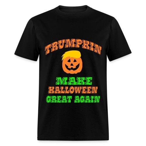 Trumpkin Halloween Shirt - Men's T-Shirt