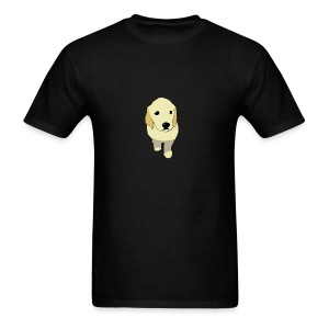 Golden Retriever puppy - Men's T-Shirt