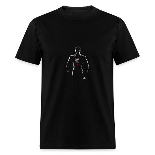 kiss my abs - Men's T-Shirt