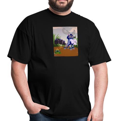 Cute Furry Mag Designs - Men's T-Shirt