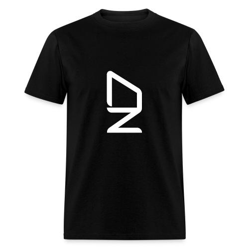 DZ logoWhite - Men's T-Shirt