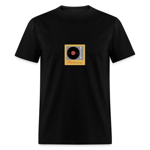 Music Truth Retro Record Label - Men's T-Shirt