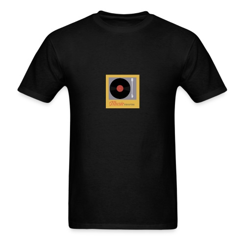 Music Truth Retro Record Label - Men's T-Shirt