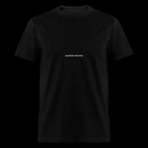 'Black' Aesthetic Anarchy - Men's T-Shirt