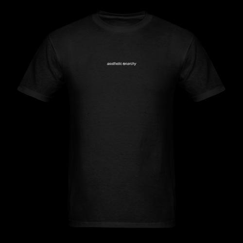 'Black' Aesthetic Anarchy - Men's T-Shirt