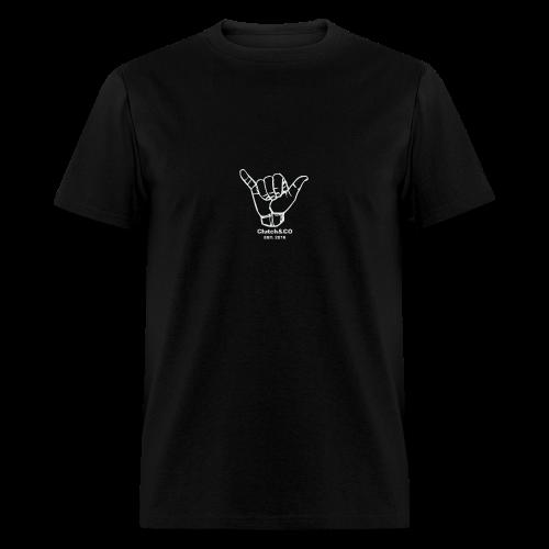 Grey Shaka for Black Clothing - Men's T-Shirt