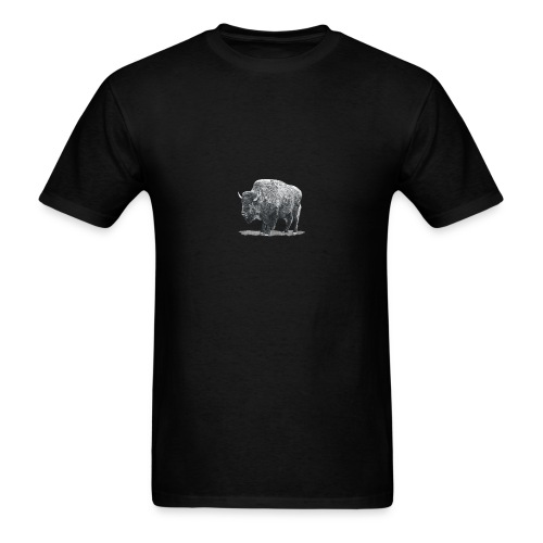 bison image - Men's T-Shirt