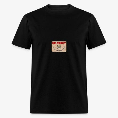 Printed Mr.Robot Patch - Men's T-Shirt