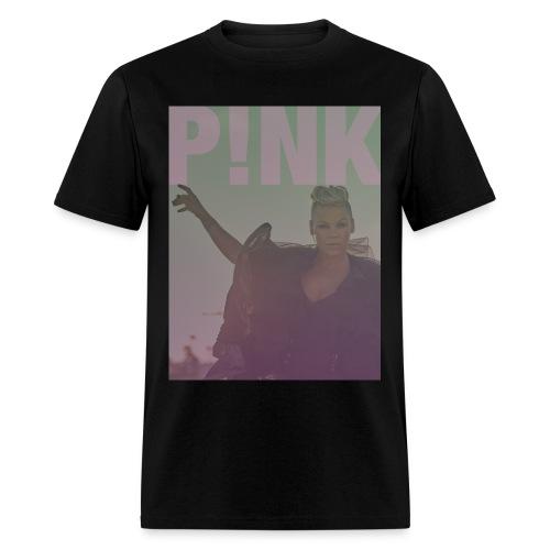 Unofficial P!nk Colorful Design - Men's T-Shirt