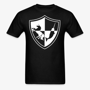 Unicorn & Narwhal Sheild - Men's T-Shirt