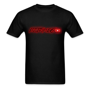RED GLOW LOGO (FOR SHIRTS and ACCESSORIES) - Men's T-Shirt