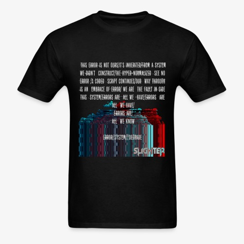 ERROR Lyrics - Men's T-Shirt