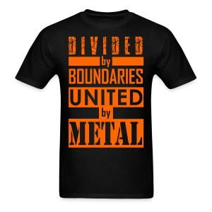 United by Metal - Men's T-Shirt