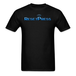 The ResetPress logo - Men's T-Shirt