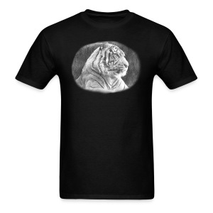 Tiger Sketch - Men's T-Shirt