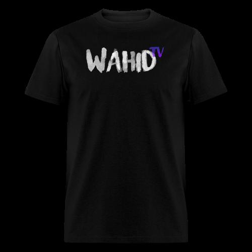 WahidTV Text Logo - Men's T-Shirt