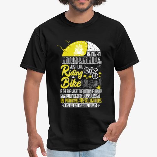 Being an Entrepreneur - Men's T-Shirt