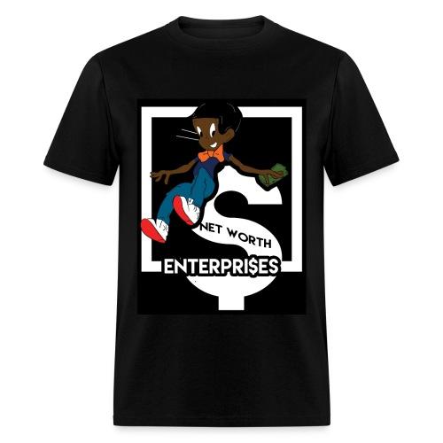 blk richie rich - Men's T-Shirt