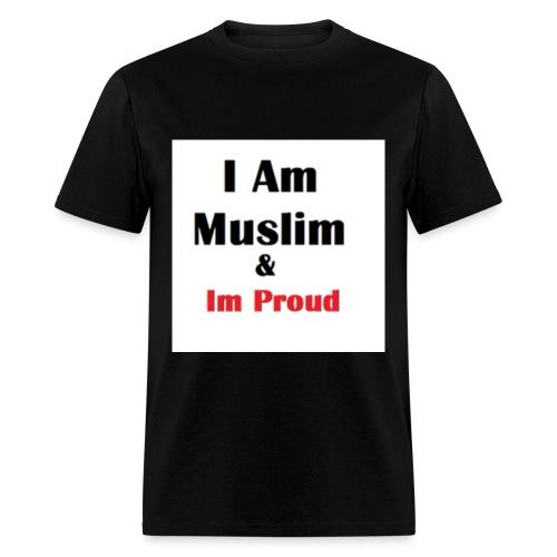 I Am Muslim - Men's T-Shirt