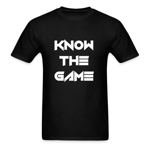 Know the Game - Men's T-Shirt