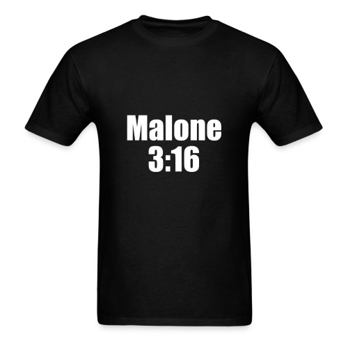 Post Malone parody logo - Men's T-Shirt